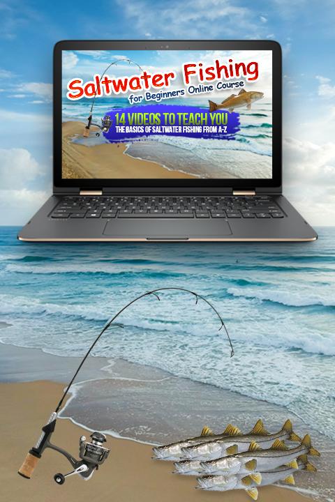 Salt water fishing course